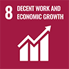 8.Decent Work and Economic Growth